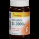 D3-vitamin 2000NE (90 caps.)